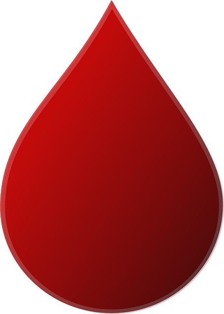 Vector clipart blood drop free vector download 4091 Free