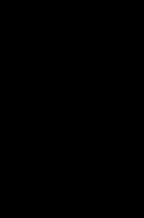 Man Bodybuilding Muscle Bragger Silhouette Black