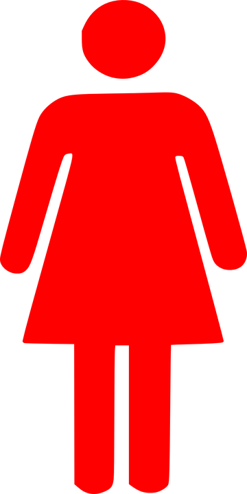 Woman Female Pictogram · Free vector graphic on Pixabay