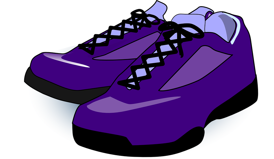 shoes sneakers trainers free vector graphic on pixabay rh pixabay com
