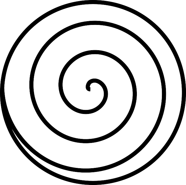 spiral swirl white  u00b7 free vector graphic on pixabay