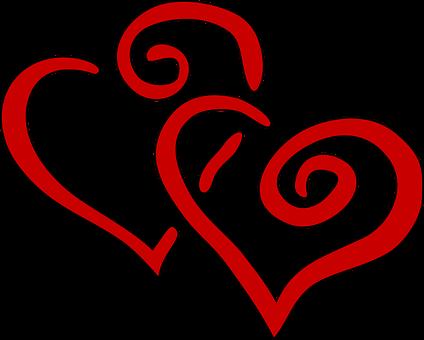 Dua Hati Gambar Pixabay Unduh Gambar Gambar Gratis