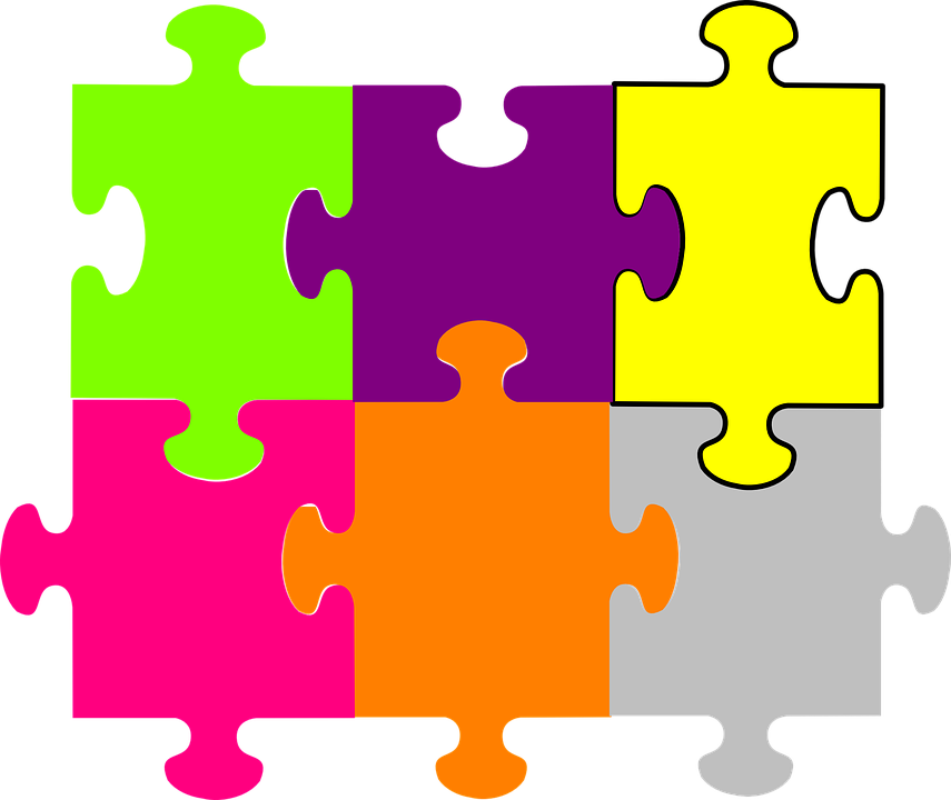 puzzle pieces fit together free vector graphic on pixabay rh pixabay com vector puzzle template vector puzzle generator