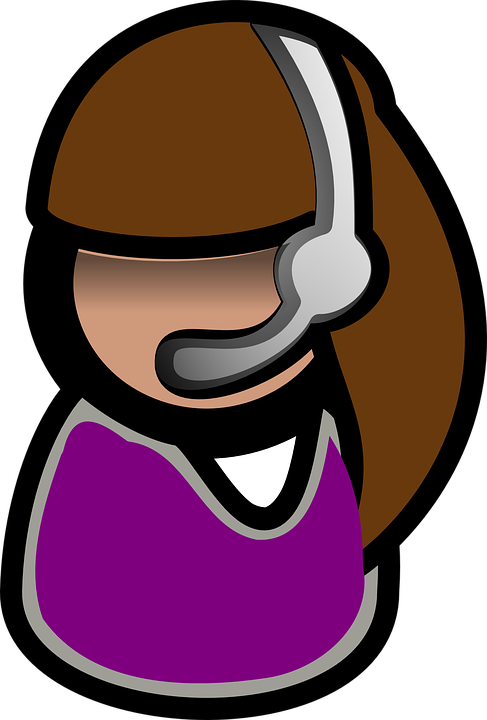 Orang, Headset, Operator, Headphone