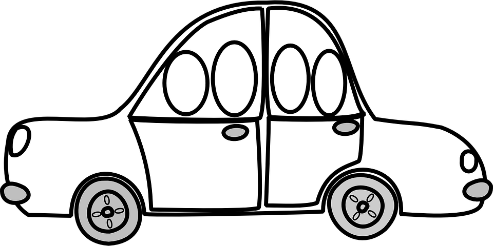 Free vector graphic: Car, Share, Driving, Riding, People ...