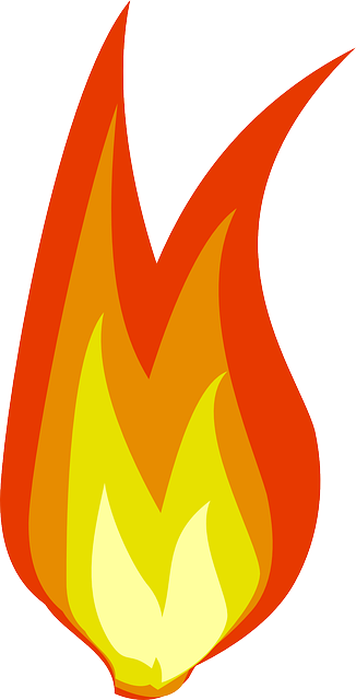 free vector graphic fire hot flame power heat free