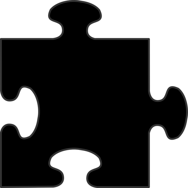 puzzle piece black free vector graphic on pixabay rh pixabay com puzzle pieces vector file puzzle pieces vector free