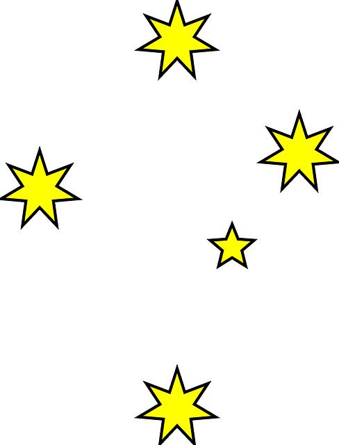 stars sky shine 183 free vector graphic on pixabay