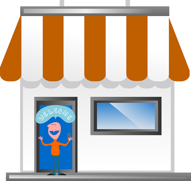 Free Vector Graphic Welcome Front Store Business