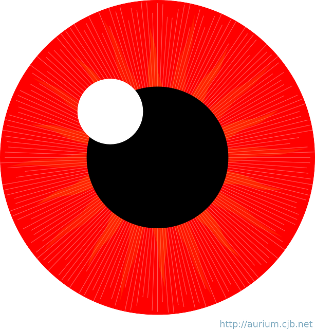 Free vector graphic: Eye, Iris, Red, Pupil, Reflection ...
