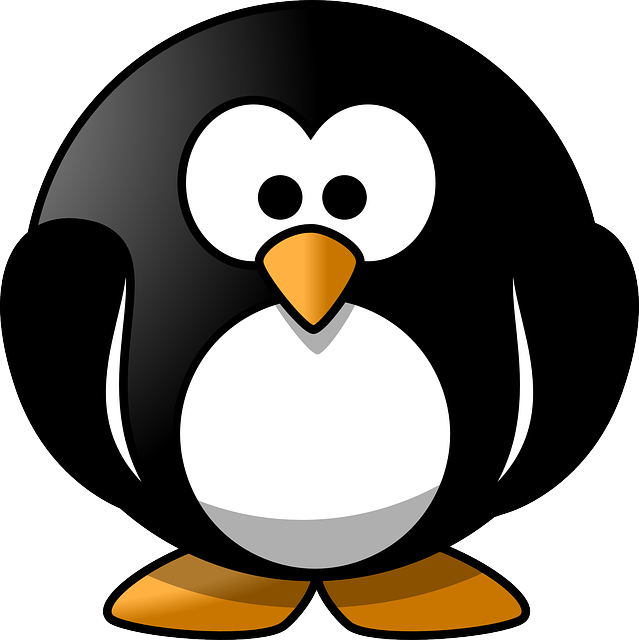 Free Vector Graphic Penguin Round Cute Animal Emote