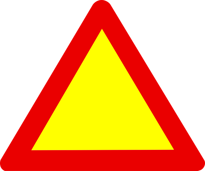 Sign Triangle Road Free Vector Graphic On Pixabay