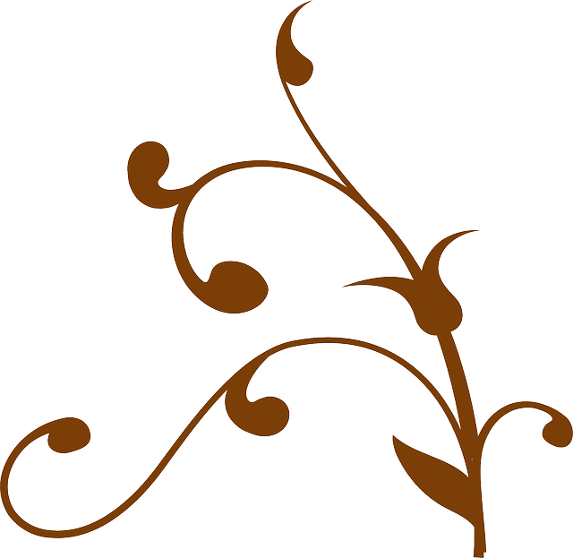 Free vector graphic branch decoration twisted brown for A decoration that is twisted intertwined or curled