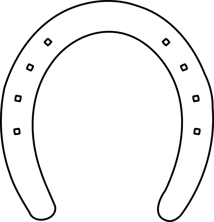 horse shoe horseshoe free vector graphic on pixabay rh pixabay com horseshoe vector file horseshoe vector free