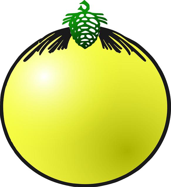 Gratis vectorafbeelding kerstbal decoratie geel gratis afbeelding op pixabay 305672 - Decoratie geel ...