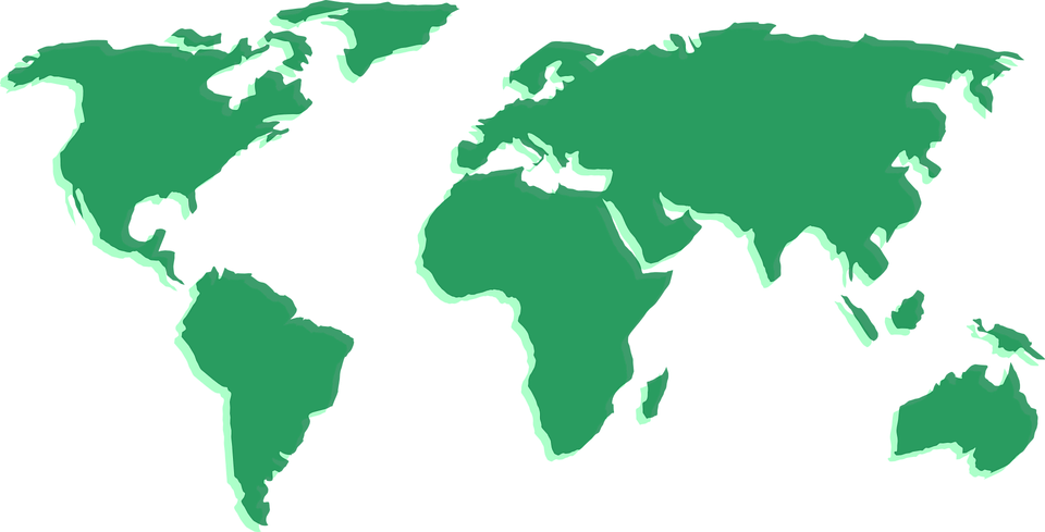 Free vector graphic Map World Continents Geography