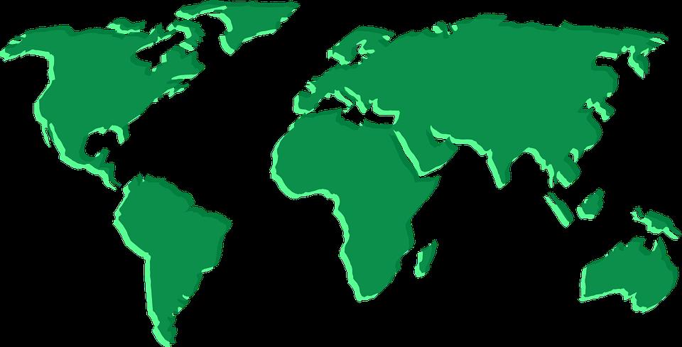 Karte Kontinente Welt.Karte Welt Kontinente Kostenlose Vektorgrafik Auf Pixabay