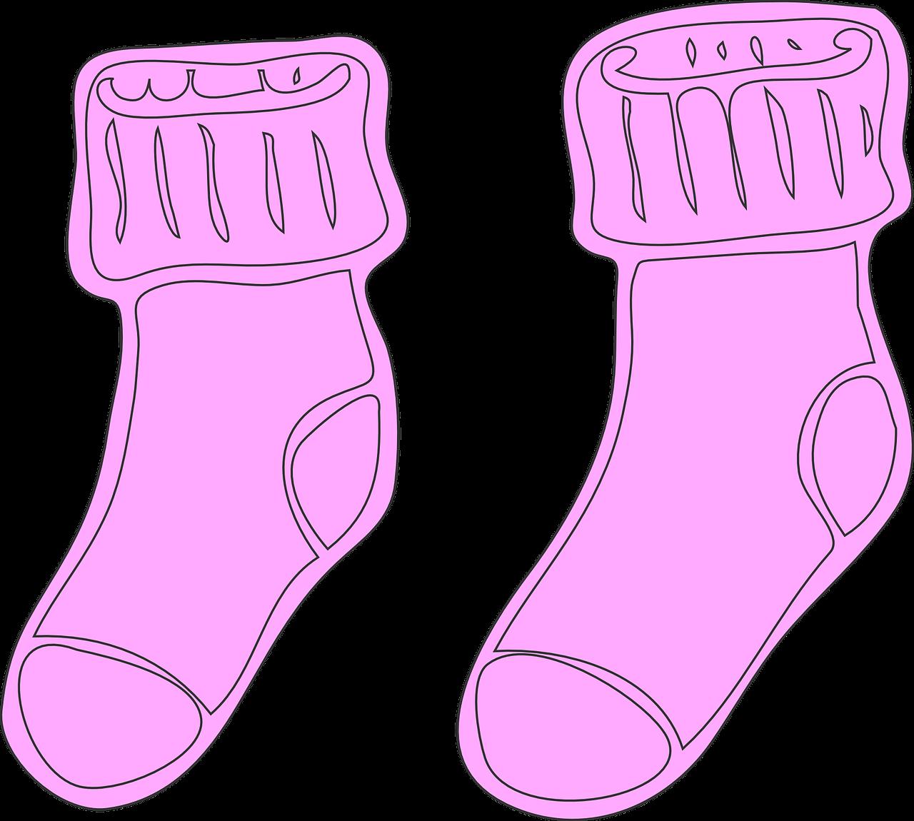Носки раскраски для детей