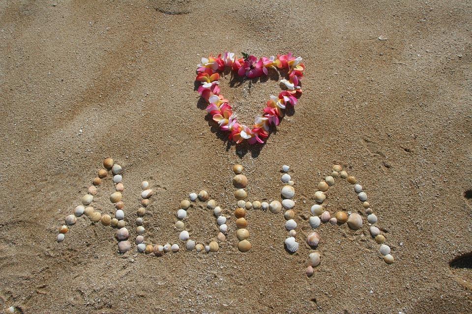 Aloha, Sand, Hawaii, Beach, Tropical, Vacation, Summer