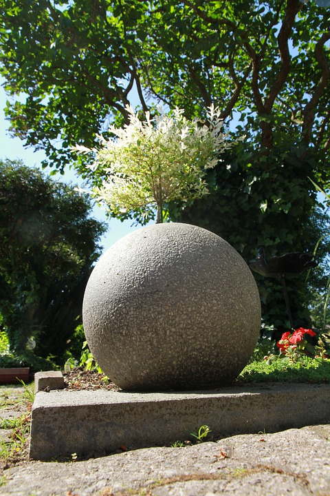 Trädgård trädgård betong : Gratis foto: Betongklot, TrädgÃ¥rd, Betong - Gratis bild pÃ¥ Pixabay ...