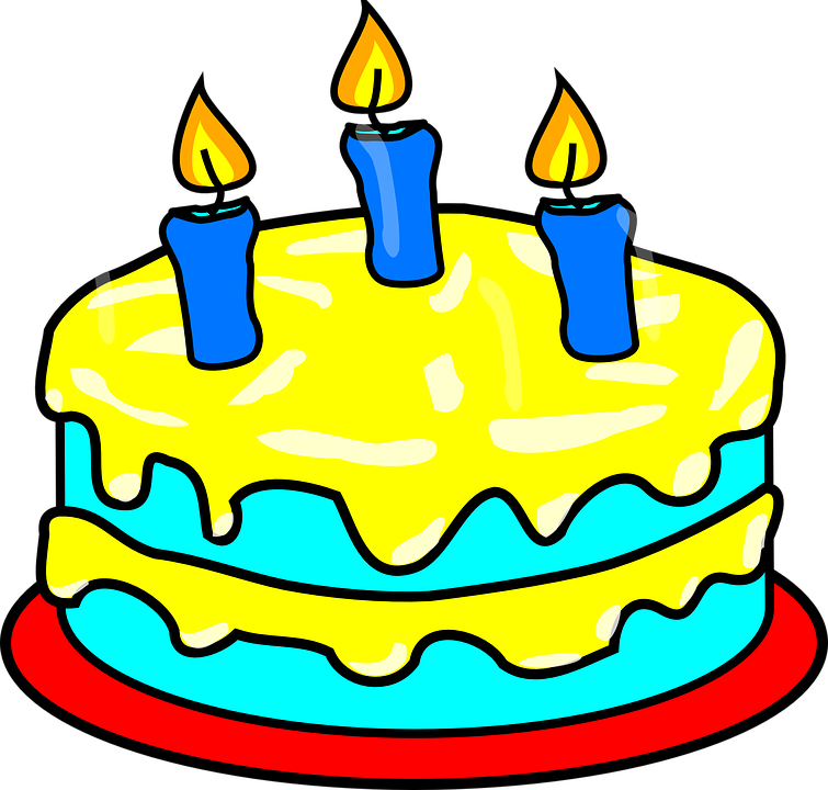 cake birthday candles  u00b7 free vector graphic on pixabay