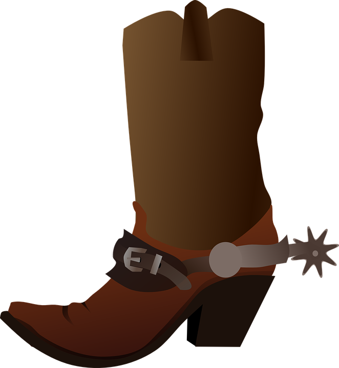 Kids Snow Boots Clipart Boot Western Cow...