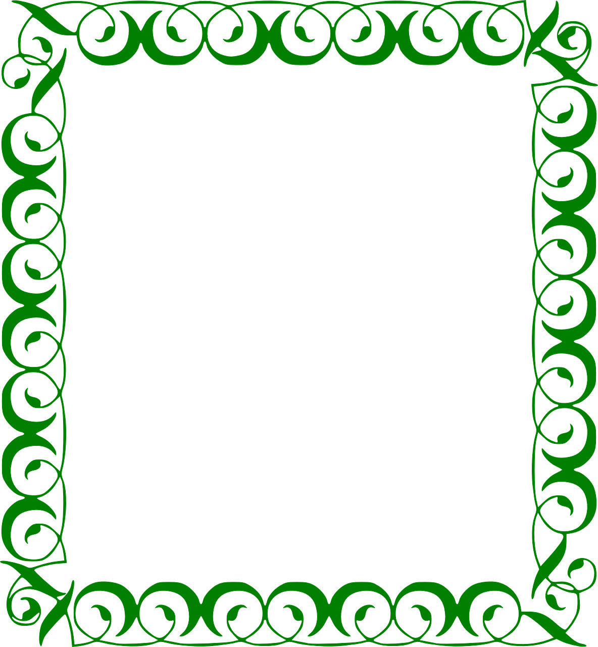 green frame ornamented free vector graphic on pixabay https creativecommons org licenses publicdomain