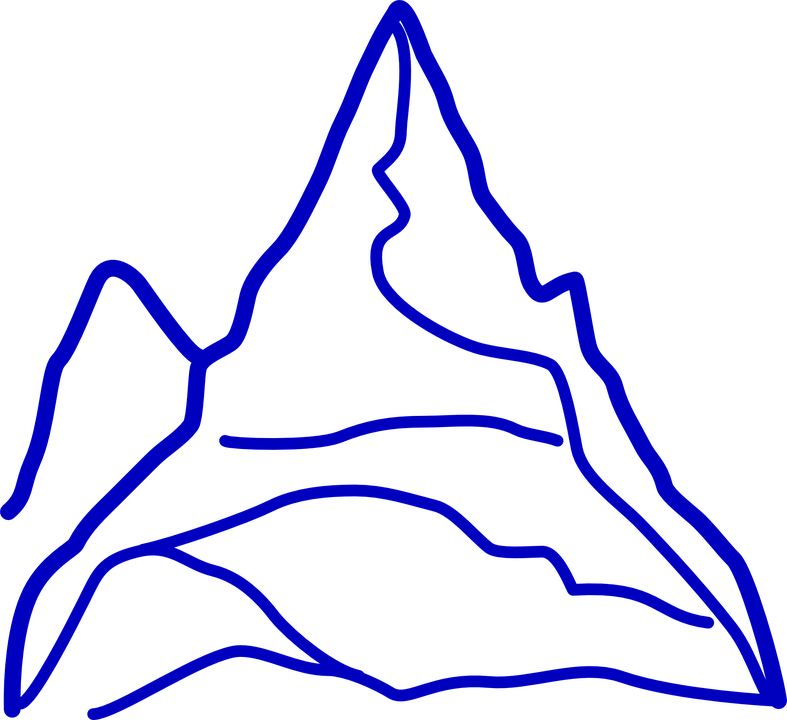 mountain grand huge free vector graphic on pixabay rh pixabay com