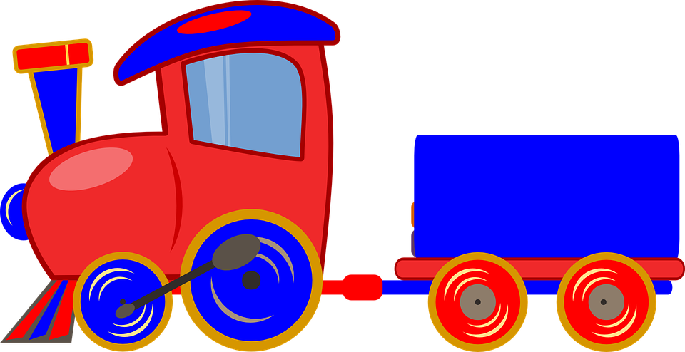 Toy Train Graphics : Train carriage toy · free vector graphic on pixabay