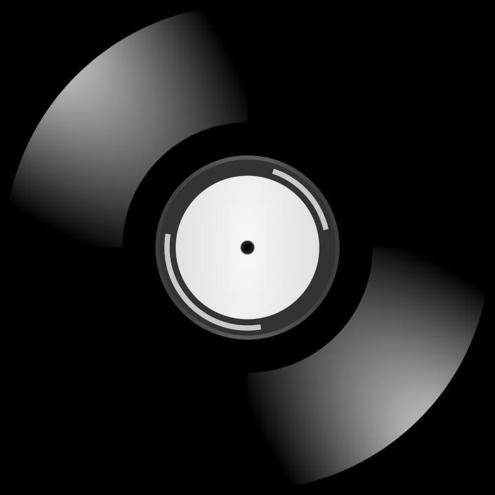 Vector gratis de vinilo m sica disco de audio imagen - Plato discos vinilo ...