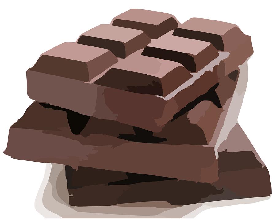 Bar Chocolate Brown Sweet 183 Free Vector Graphic On Pixabay