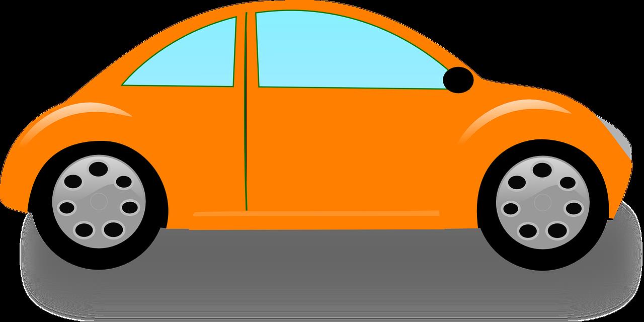 Картинка легковая машина для детей на прозрачном фоне