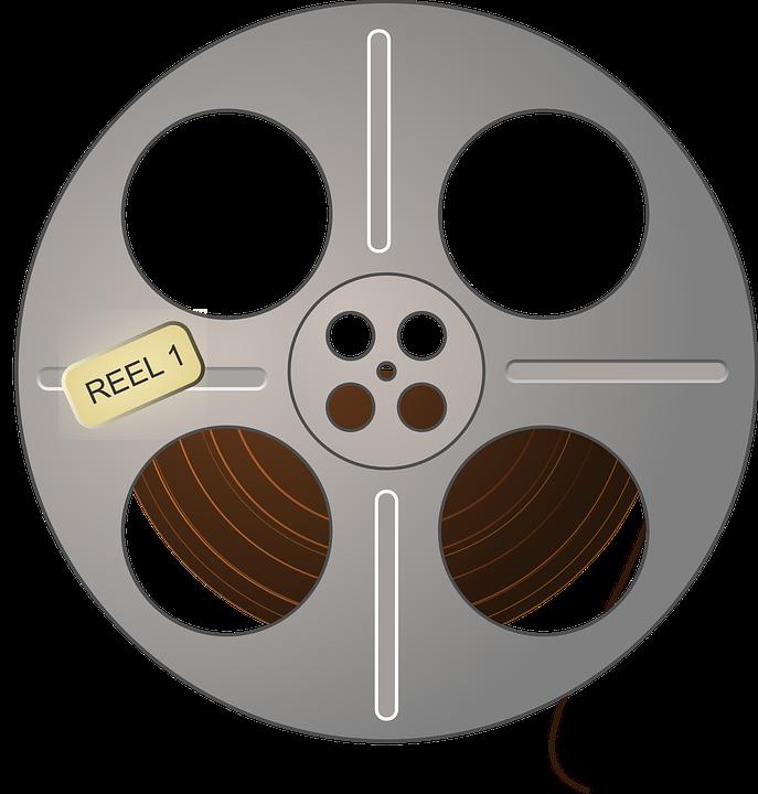 Movie Film Reel Free Vector Graphic On Pixabay