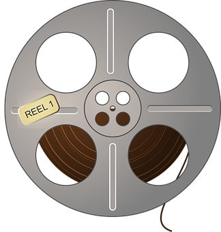 Movie Film Reel Retro Vintage Film Fi