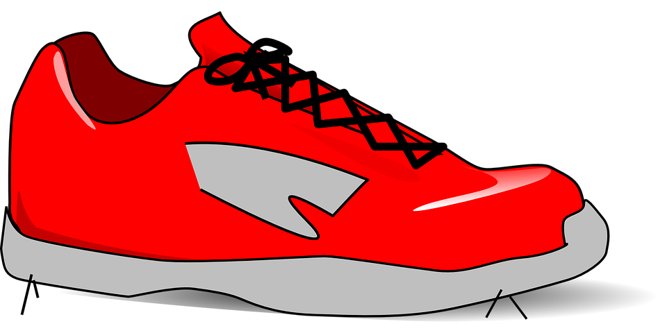 shoe sport trainer free vector graphic on pixabay rh pixabay com running shoes free clipart