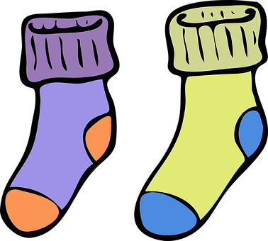 Socks, Warm, Colorful, Winter, Cosy