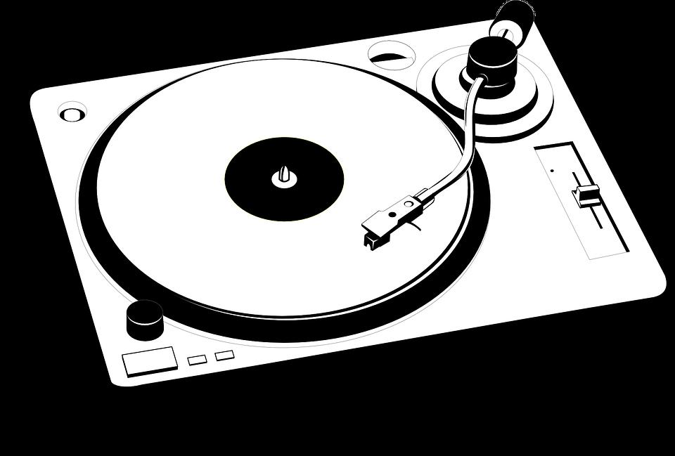 Turntable Vinyl Retro · Free vector graphic on Pixabay