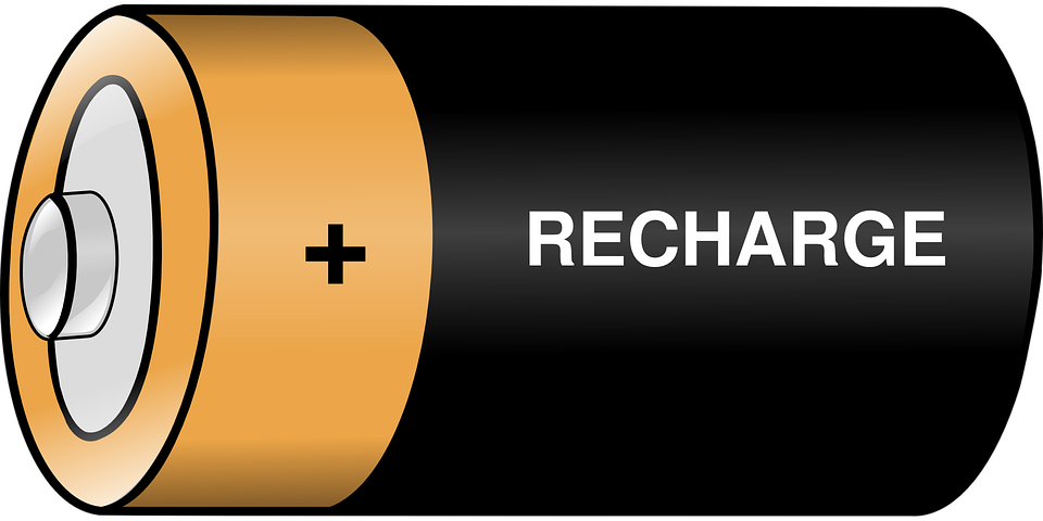 Battery Charge Recharge · Free vector graphic on Pixabay