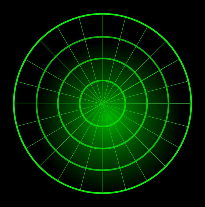kostenlose vektorgrafik radar leere gr n zentrum kreise kostenloses bild auf pixabay 306289. Black Bedroom Furniture Sets. Home Design Ideas