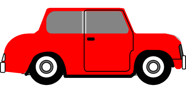 Car Automobile One Door 183 Free Vector Graphic On Pixabay