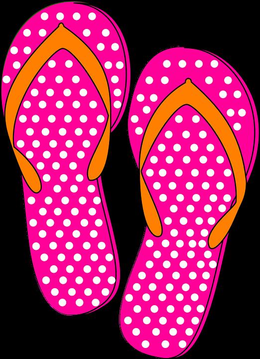 free vector graphic thongs flip flops orange pink free image on pixabay 306344. Black Bedroom Furniture Sets. Home Design Ideas