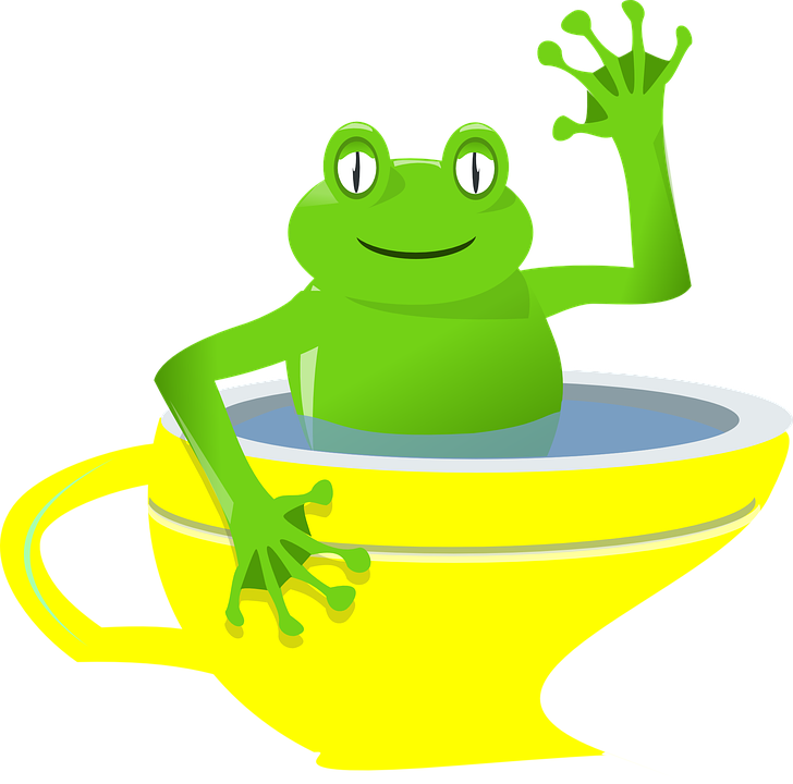 Rana coppa ondeggiare cartone grafica vettoriale gratuita su pixabay