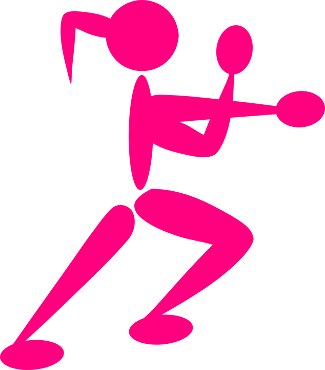 girl boxing boxer free vector graphic on pixabay rh pixabay com Boxing Glove Outline Clip Arts Boxing Gloves Outlines
