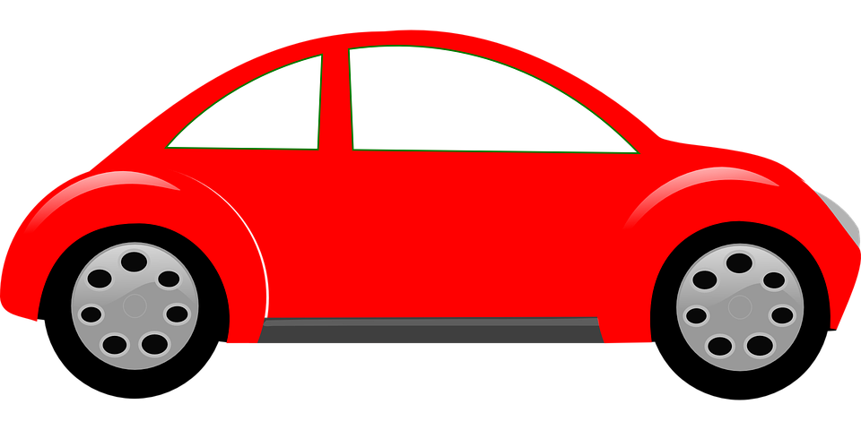 Free vector graphic: Car, Automobile, Vehicle, Red  Free Image on