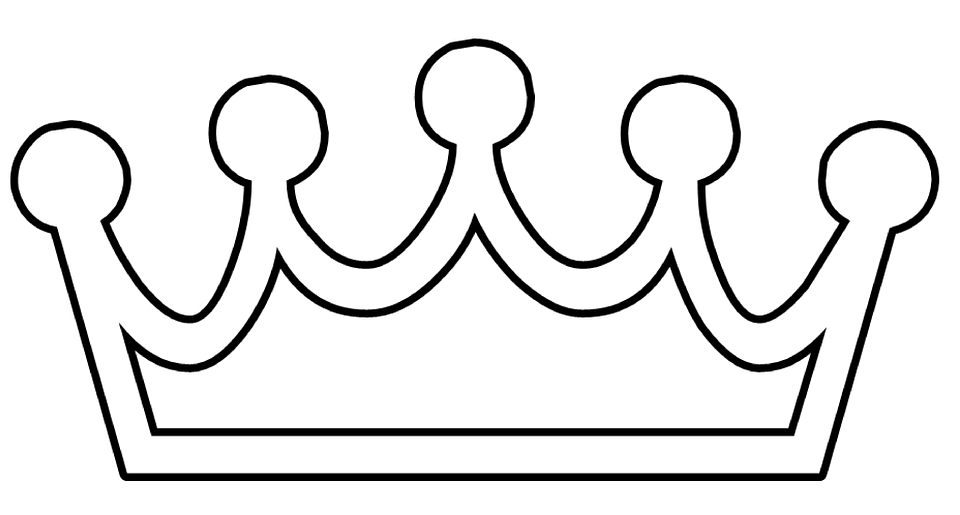 Crown Simple White Free Vector Graphic On Pixabay