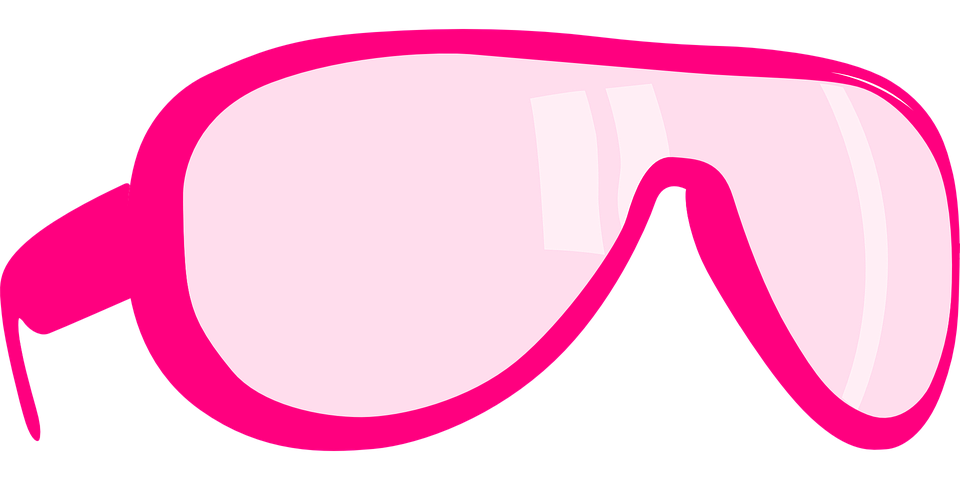 Free vector graphic: Glasses, Pink, Rose, End-To-End ...