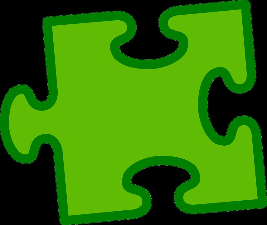 pusselbit gr u00f6n enda  u00b7 gratis vektorgrafik p u00e5 pixabay gerber daisy clip art free red gerbera daisy clip art