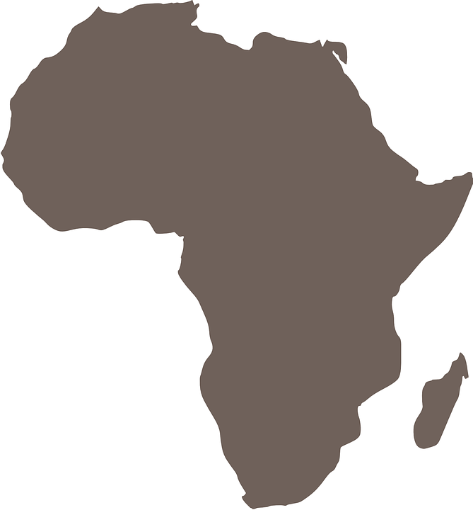 africa map graphics