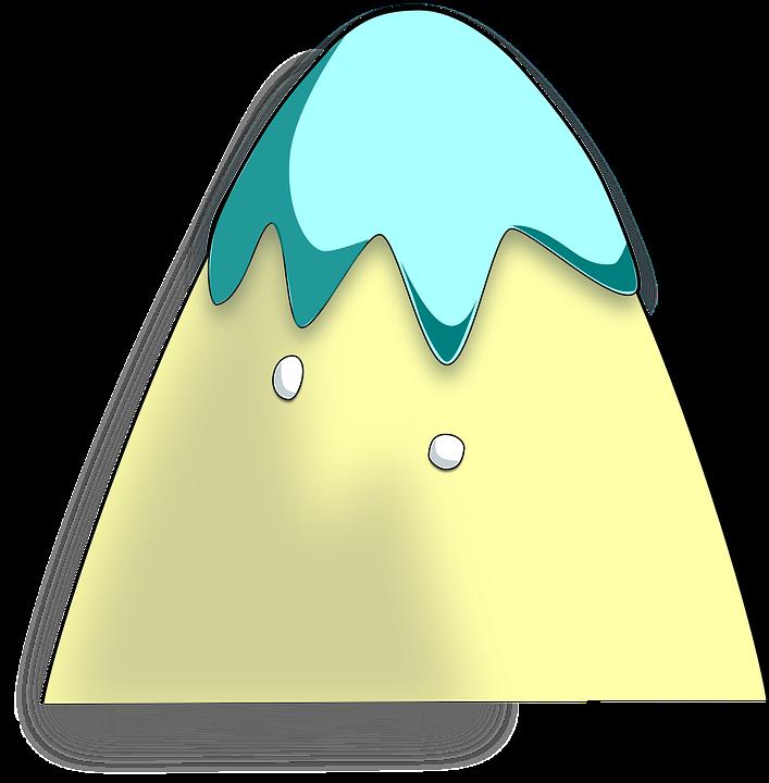 Biru Gunung Kuning Gambar Vektor Gratis Di Pixabay