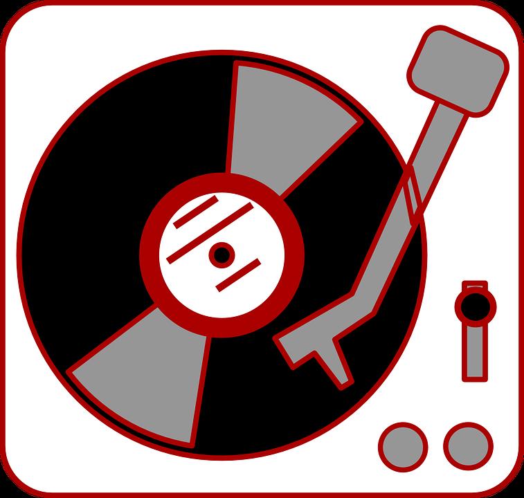 Vinyl Dj Reciscord Player 183 Free Vector Graphic On Pixabay
